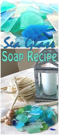 Sea Glass Soap Recipe ♥
