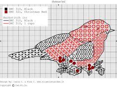 OK - blackwork bird Motifs Blackwork, Blackwork Cross Stitch, Blackwork Embroidery, Cross Stitch Bird, Cross Stitch Samplers, Cross Stitch Animals, Cross Stitch Charts, Cross Stitching, Cross Stitch Embroidery