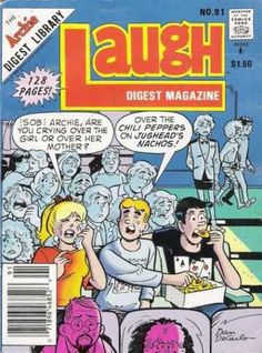Laugh Digest Magazines - Diana had the best collection =)