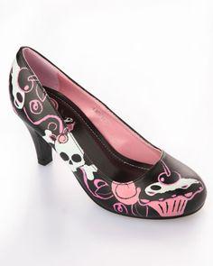 T.U.K. Sweet Life Cupcake Heel Shoe (Vegan)