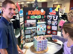 Nick Metzler, winner of the 2011 ChiTAG Young Inventor Challenge!