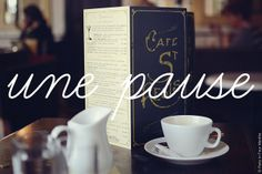a break-French Vocabulary by Paris in Four Months, via Flickr