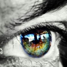 Only if I can see through God's eyes
