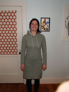 A hooded Lola by NothingButKnits #sewing #victorypatterns