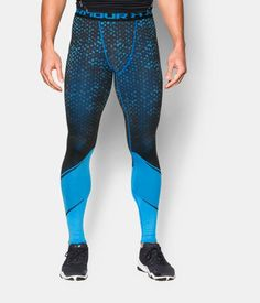 Men's UA HeatGear® Armour Scope Compression Shorts, ELECTRIC BLUE, Front