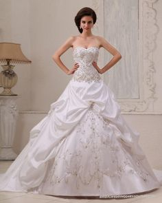 beaded ball gown wedding dresses - Google Search