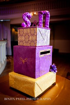 Towering Money box is perfect for any indian wedding
