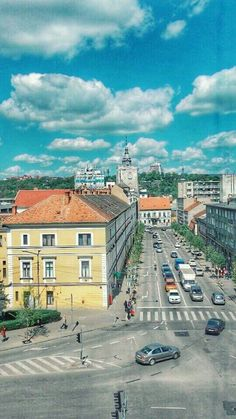 Prin Cluj www. Romania, Vacation, Mansions, House Styles, City, Travel, Home, Vacations, Viajes