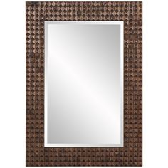 Howard Elliott Bombay Bronze Mirror 68055