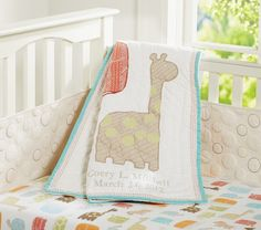 Organic Safari Crib Fitted Sheet | Pottery Barn Kids