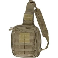 $70 Water resistant, tactical grade rugged but with gear pass thru for earbuds, glasses: 5.11 Tactical Rush MOAB 6 - U.S. Cavalry