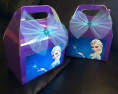 Cumpleaños de Disney congelado favor bolsas por FantastikCreations