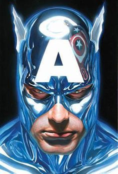 Painting by Alex Ross.
