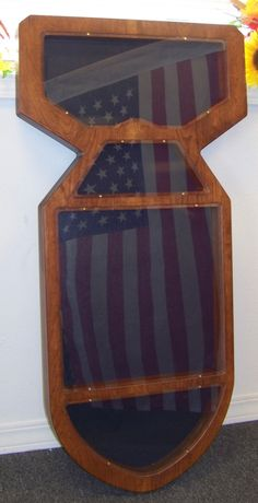 Items similar to Bomb Shaped Military Retirement Shadow Box on Etsy Military Box, Military Shadow Box, Military Retirement, Challenge Coin Holder, Challenge Coin Display, Challenge Coins, Usmc, Funeral, Woodworking