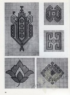 Gallery.ru / Фото #38 - Persian Rug Motifs for Needlepoint - Dora2012