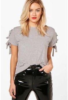 Rendall Tie Sleeve T-Shirt