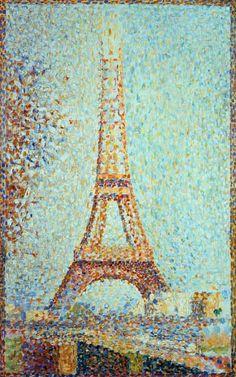La Tour Eiffel de Seurat - Pépiole à l'école