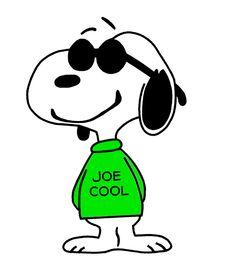 Joe Cool Being Cool