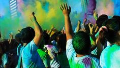 Runners start the year full of color at the Color Manila Run. Manila, Runners, Ph, Smile, Color, Hallways, Joggers, Colour, Runner Rugs