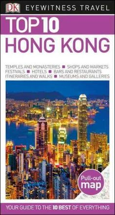 Newly revised, updated, and redesigned for 2016. True to its name, DK Eyewitness Travel Guide: Top 10 Hong Kong covers all the city's major sights and attractions in easy-to-use top 10 lists that help