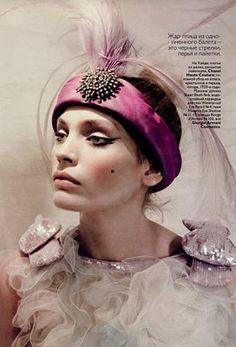 Iris Strubegger & Heidi Mount by Paolo Roversi   Vogue Russia May 2010