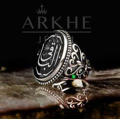 el-Bâkî Yazılı Erkek Yüzük - Arkhe Jewel Class Ring, Elsa, Rings For Men, Jewelry, Men Rings, Jewlery, Jewerly, Schmuck, Jewels