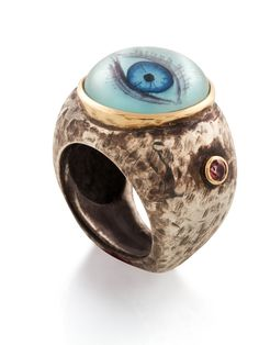 Luna Eye of Intuition Ring by Anna Ruth Henriques