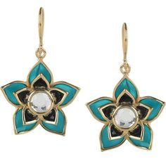 Isharya - is it just me or do these look like Heinz Baked Beans tins? Crystal Earrings, Drop Earrings, Isharya, Jewelery, Fashion Jewelry, Crystals, Gold, Lotus Jewelry, Flower Jewelry