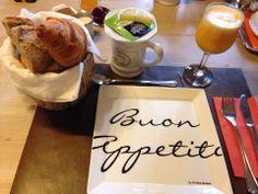 Zalig ontbijten in een mooi kader