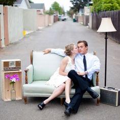 Outdoor furniture, cute photo idea