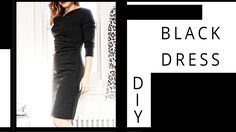 DIY | Black Dress | Szilvia Bodi