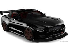 新型フォードマスタングのカスタマイズカー