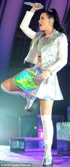 shiny holographic