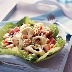 Tortellini and Ham Salad