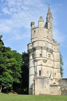 Chateau de Septmonts, Picardie, France