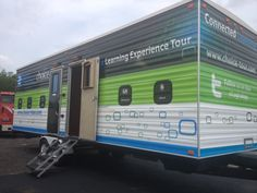Check out the completed mobile classroom design!