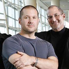 Jonathan Ives with Steve Jobs