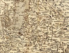 Livonia on the 1570 map