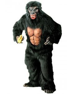Déguisement King Kong - Taille Standard Déguisements Animaux   Deguisement-magic Animaux