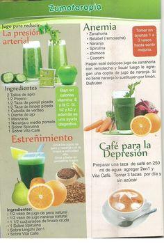 Zumoterapia con Productos Saludables DXN - Venta de Membresia en www.nuestrocafe.net