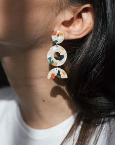 "Gefällt 866 Mal, 20 Kommentare - CACTO (@cactoshop) auf Instagram: ""Shape Earrings - Terrazzo #newarrivals"""