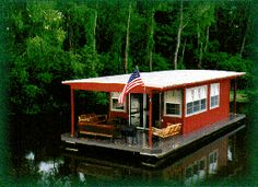Houseboat Adventures in the Atchafalaya Basin--I stayed in this one!