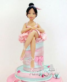 Ballet Cake Topper by Amit Cooly