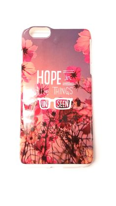 Hope In The Things Unseen iPhone 6/6S/6 Plus Case