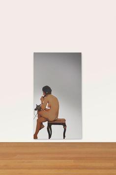 Michelangelo Pistoletto, Donna Nuda al Telefono, 1965.Image courtesy Christie's Images, Ltd.