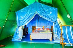 Tent Cabin front Las Caletas Lodge Caletas Beach, Osa Peninsula Costa Rica #vacation #family #nature #cool