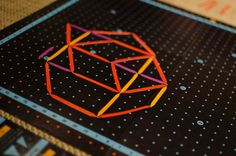 THREE STICKS - A highly creative board game based on geometry