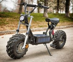 Off-road solar ebike – the Daymak Beast