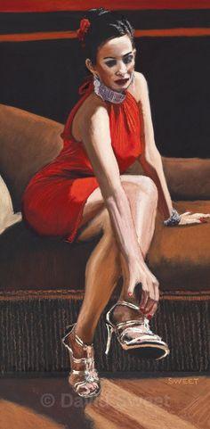Vaudeville VI - Paintings David, Paintings, Sweet, Style, Fashion, Candy, Swag, Moda, Stylus