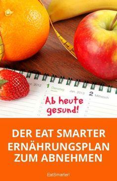 Der EAT SMARTER Ernährungsplan zum Abnehmen   eatsmarter.de
